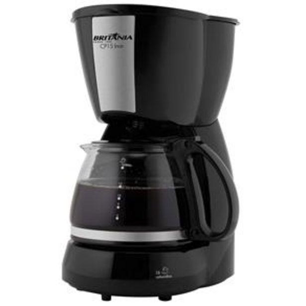 Oferta de Cafeteira Elétrica Britânia CP15 - Preto por R$79,99