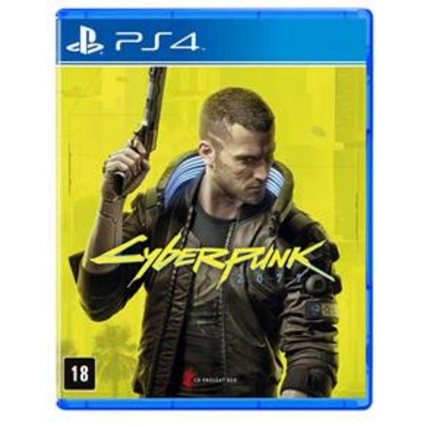 Oferta de Jogo Cyberpunk 2077 - PS4 por R$179,9