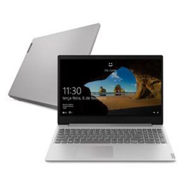 "Oferta de Notebook Lenovo AMD Ryzen 5-3500U 8GB 1TB Tela 15.6"" Windows 10 Ideapad S145 por R$3199"