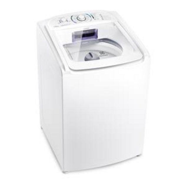 Oferta de Lavadora de Roupas Electrolux Automática LES15 Essencial Care 15kg – Branca por R$1849