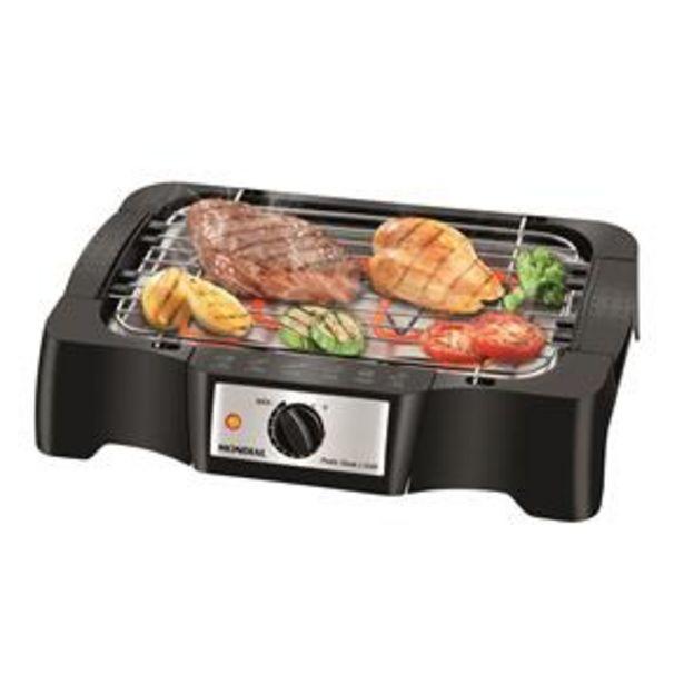 Oferta de Churrasqueira Elétrica Mondial Pratic Steak & Grill – CH-07 com Controle de Temperatura por R$119,9