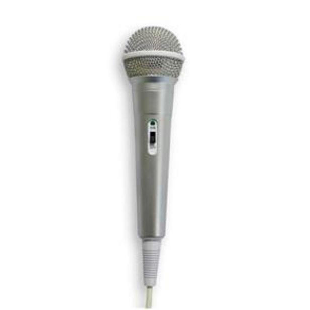 Oferta de Microfone High Performance Dynamic Cardioide Prata - Waldman por R$54,99