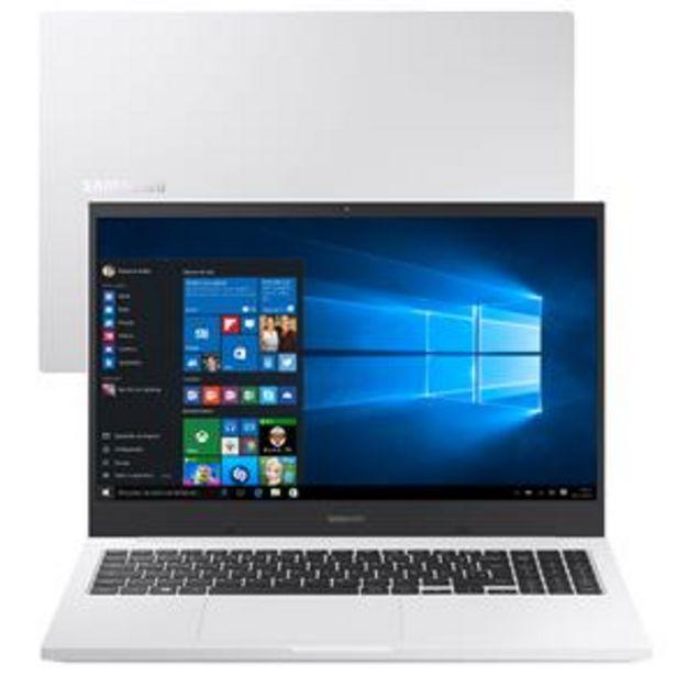 Oferta de Notebook Samsung Book X30 Intel Core i5-10210U 10ª Geração 8GB 1TB 15.6'' Windows 10 Home NP550XCJ-KF2BR - Branco por R$3749