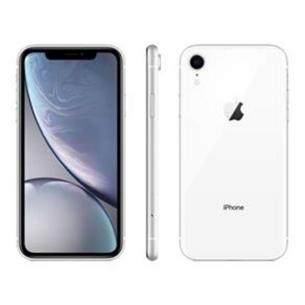 Oferta de IPhone XR Apple Branco 128GB por R$3999