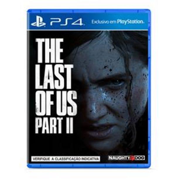 Oferta de Jogo The Last Of Us: Part II - PS4 por R$149