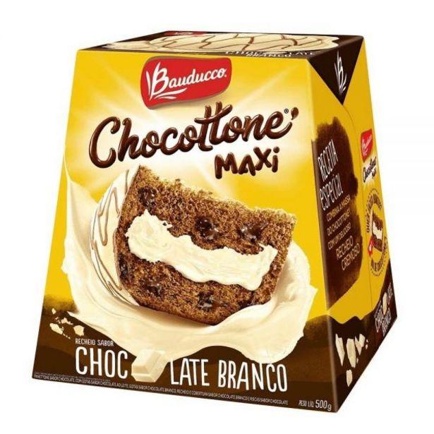 Oferta de Chocottone Maxi Chocolate Branco Bauducco - 500g por R$29,99