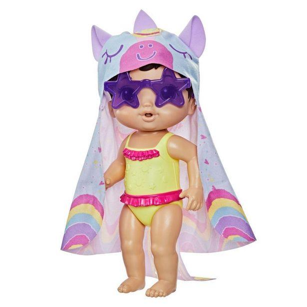Oferta de Boneca Baby Alive Hasbro Dia De Sol Morena - F2569 por R$99,99
