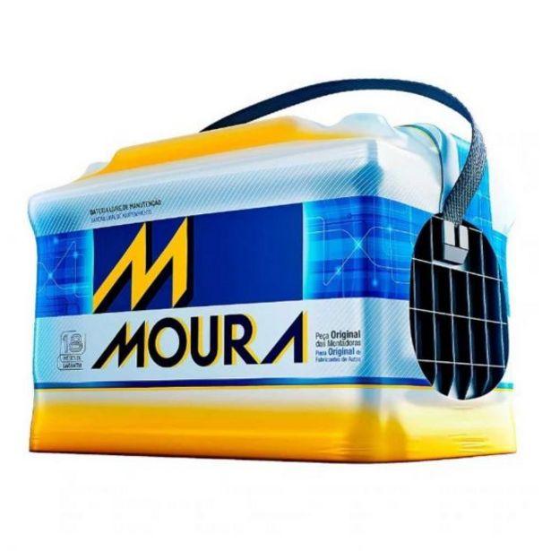 Oferta de Bateria Automotiva 12V/60AH Moura M60GE - 13060012 por R$399,9