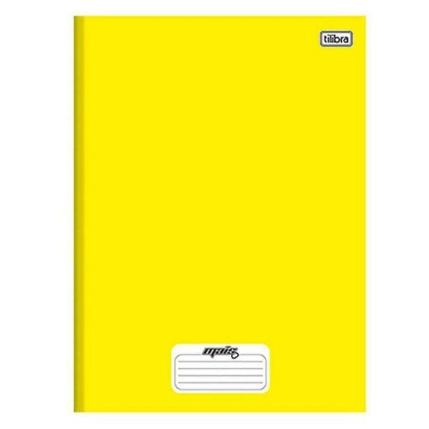 Oferta de Caderno 1 Matéria Costurado Amarelo Mais 96 Folhas Tilibra - 116807 por R$4,49