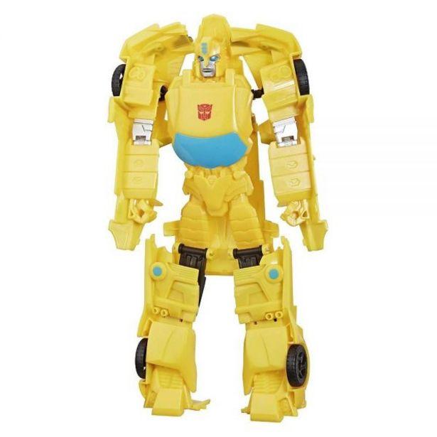 Oferta de Transformers Titan Changers Bumblebee Hasbro - E5889 por R$59,99