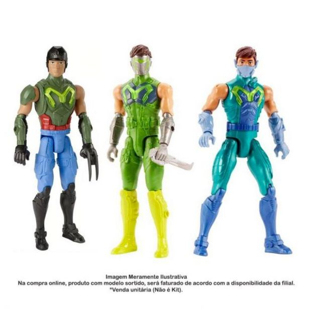 Oferta de Boneco Articulado Max Steel Básico Mattel - FGY69 por R$29,99