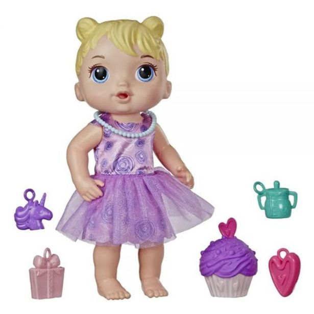 Oferta de Boneca Baby Alive Festa de Presentes Hasbro - E8719 por R$99,99
