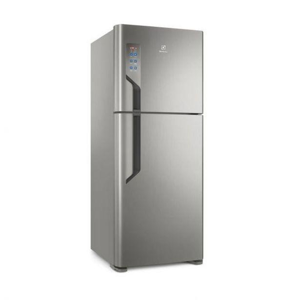 Oferta de Refrigerador Frost Free 431 Litros TF55S Inox Electrolux por R$2999,9