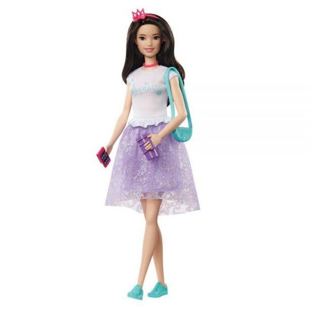 Oferta de Boneca Barbie Aventura De Princesas Renee Mattel - GML71 por R$49,99