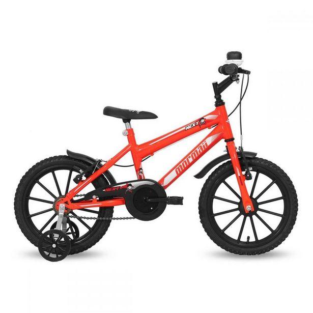 Oferta de Bicicleta Infantil Mormaii Aro 16 Next Masculino Neon - Laranja por R$499,9