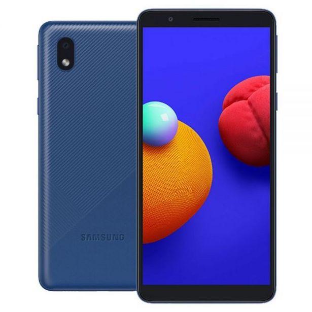 """Oferta de Celular Smartphone Galaxy A01 Core 32Gb 5,3"""" Samsung - Azul por R$749,85"""