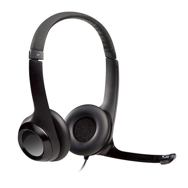 Oferta de Headset Estéreo Com Fio USB Logitech H390 - Preto por R$249,9