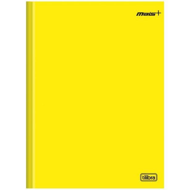 Oferta de Caderno Brochura 1 Matéria 1/4 D+ Amarelo 80 Folhas Tilibra - 116726 por R$2,99