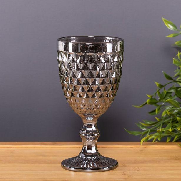 Oferta de Taça De Água 325Ml Bico Abacaxi Lyor - Metalizado por R$14,99