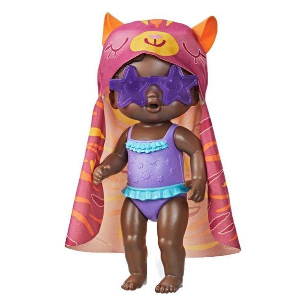 Oferta de Boneca Baby Alive Hasbro Dia De Sol Negra -  F2570 por R$99,99