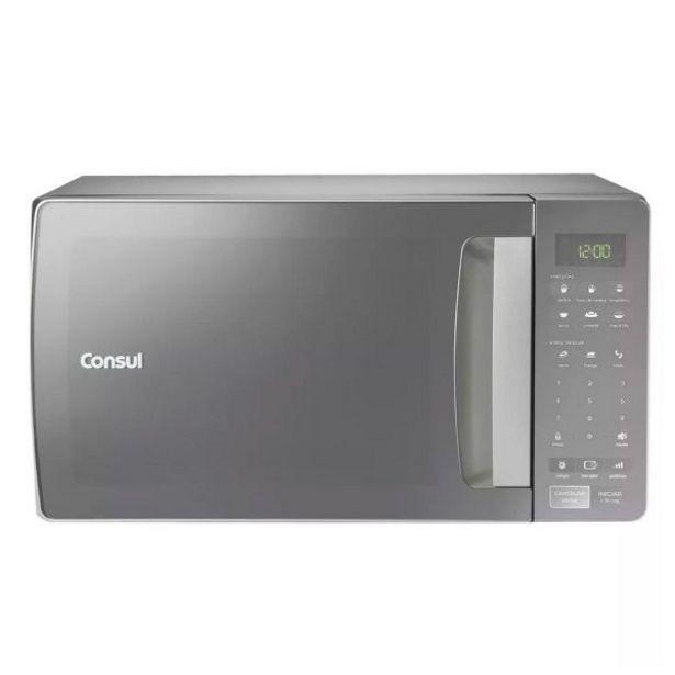 Oferta de Forno Micro-ondas 32L Prata CMS45AR Consul por R$679,9