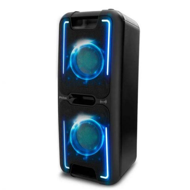 Oferta de Caixa Acústica 250W RMS Effects PCX5501N Philco - Preto por R$799,9