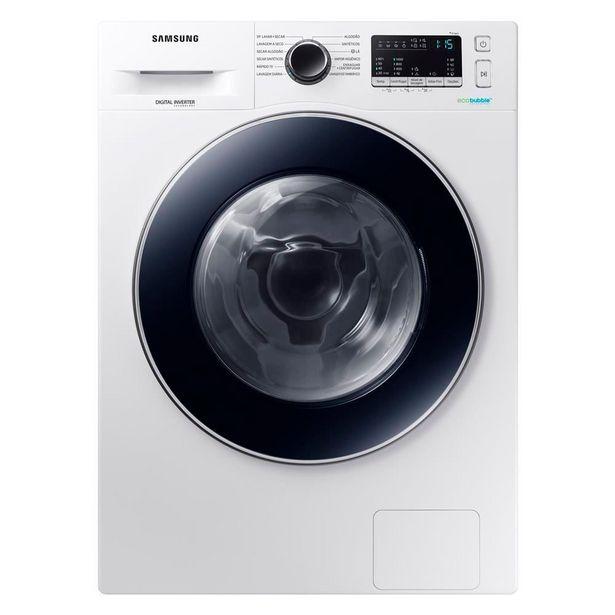 Oferta de Lava e Seca 11kg/7kg WD4000 Branca Samsung por R$3699,9