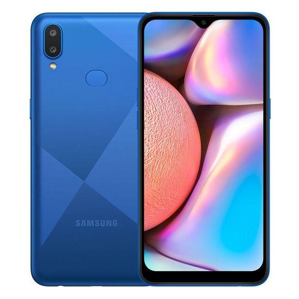 """Oferta de Celular Smartphone Galaxy A10s 32Gb 6,2"""" Samsung - Azul por R$999,9"""