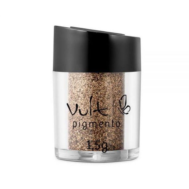 Oferta de Pigmento Para Sombra Vult - Dourado 08 por R$12,99