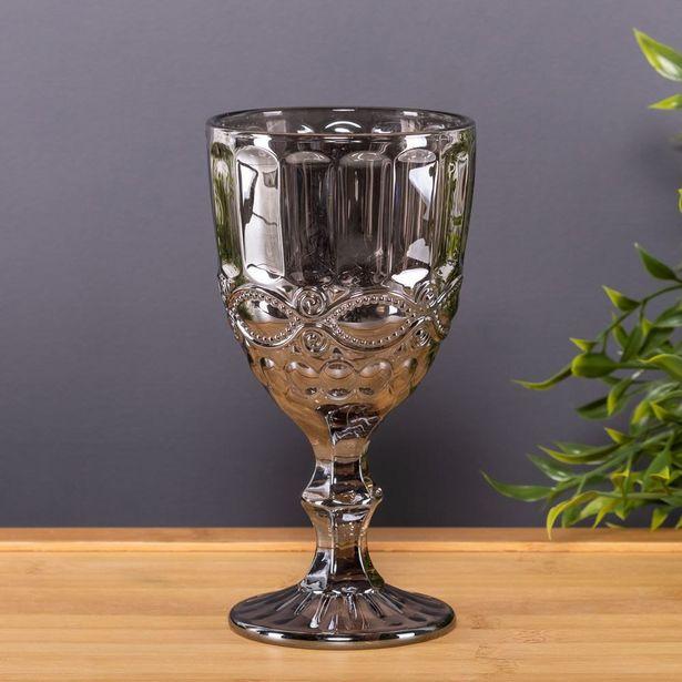 Oferta de Taça De Vidro Metalizado 325Ml Lyor - Libelula por R$14,99