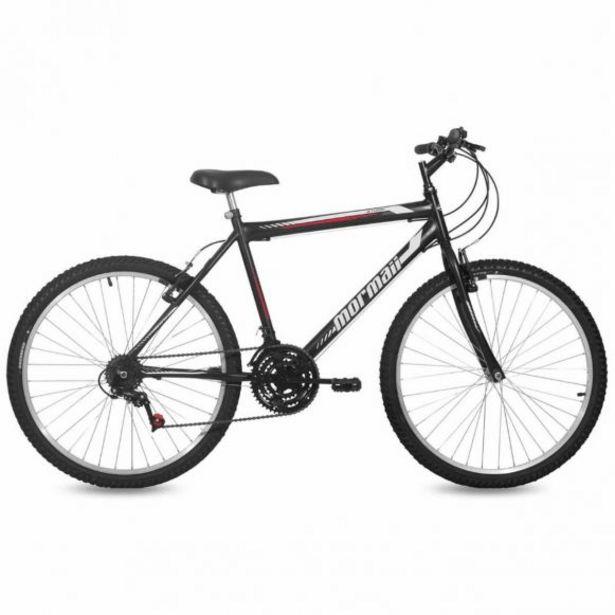 Oferta de Bicicleta Aro 26 V-Brake Nylon Mormaii Storm - Preta por R$599,9