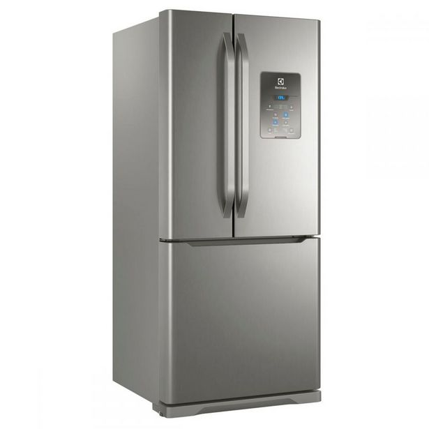 Oferta de Refrigerador Frost Free 579L Side Inverse Electrolux DM84X por R$5999,9