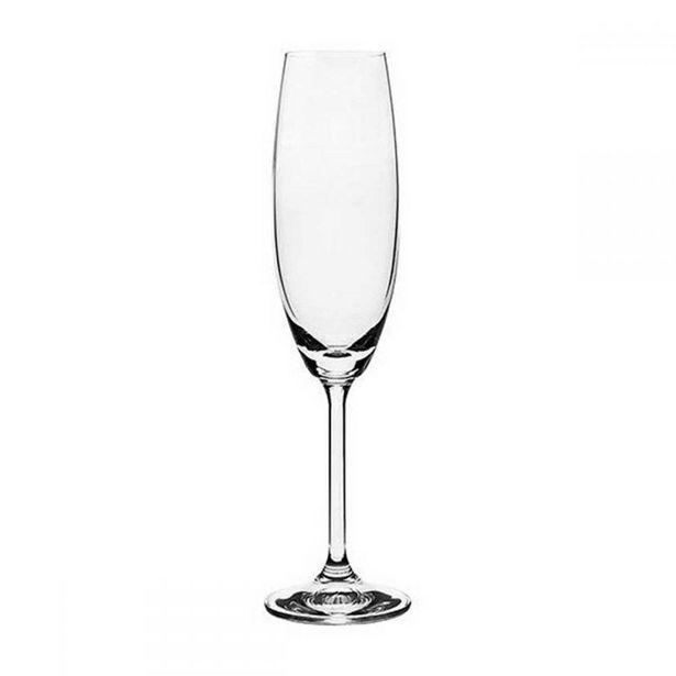 Oferta de Taça Champanhe Gastro Cristal Bohemia 230Ml - Cristal por R$14,99