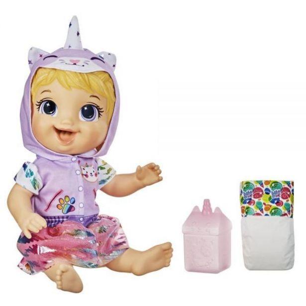 Oferta de Boneca Baby Alive Tinycorn Loira - E9423 por R$99,99