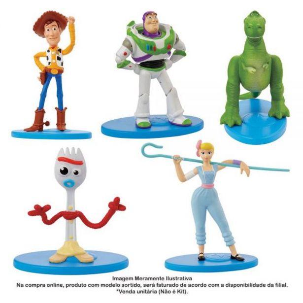 Oferta de Mini Figura Boneco E Personagem Toy Story 4 Mattel - GGY57 por R$4,99