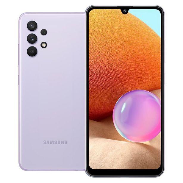 """Oferta de Celular Smartphone Galaxy A32 6,4"""" 128Gb Samsung - Violeta por R$1799,85"""
