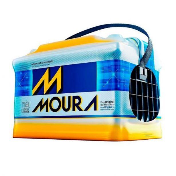 Oferta de Bateria Automotiva 12V/60Ah MGE Moura M60GE - 12002826 por R$399,9