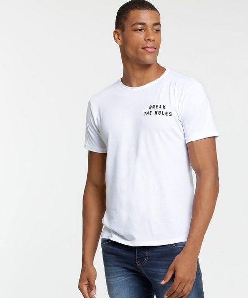Oferta de Camiseta Masculina Estampa Tigre Manga Curta por R$25,99