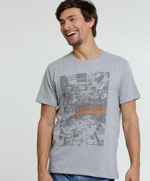 Oferta de Camiseta Masculina Estampada Manga Curta Costa Rica por R$29,99