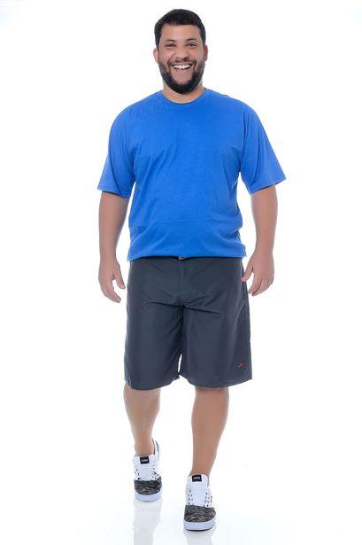 Oferta de Camiseta Masculina Plus Size Nathaniel por R$29,9