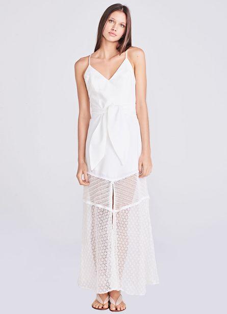 Oferta de Vestido Anong Off White por R$402