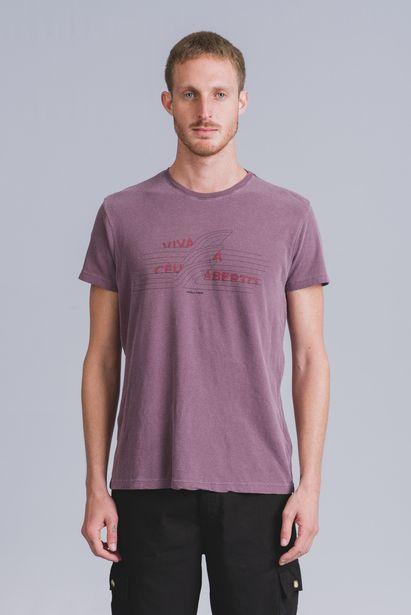 Oferta de Tshirt Viva Vinho Wollner por R$39