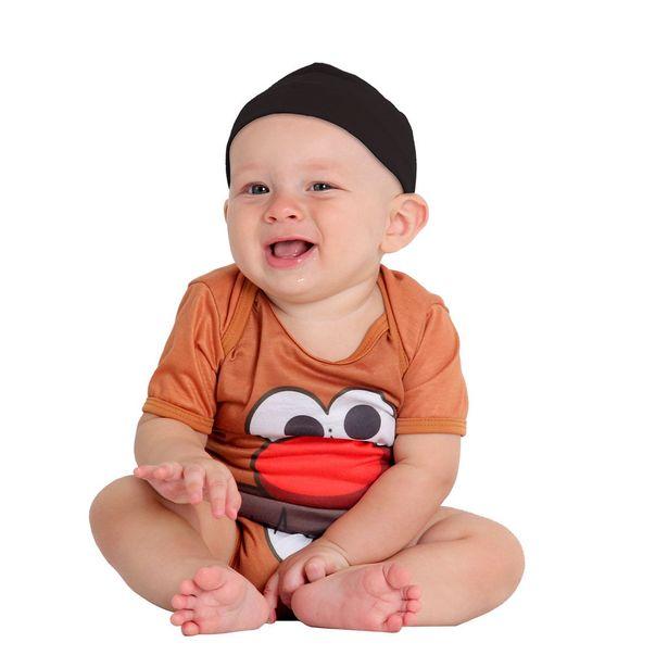 Oferta de Fantasia Body Cabeça de Batata Bebê por R$19,99