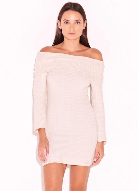 Oferta de Vestido Off White por R$234