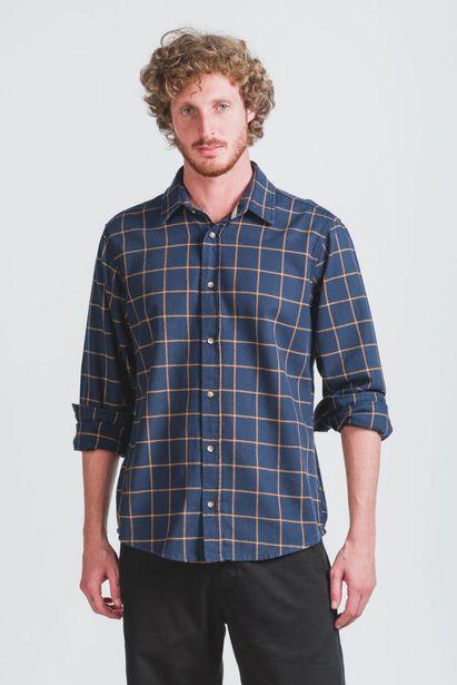 Oferta de Camisa Manga Longa Most Azul Marinho Wollner por R$119,6