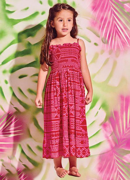 Oferta de Vestido Bambini Boho Ethnic por R$140,4
