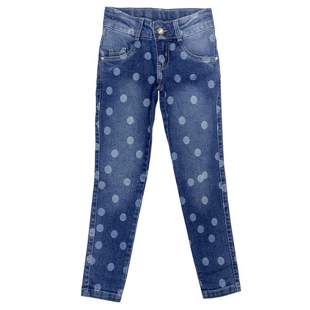 Oferta de Calça Look Jeans Skinny Jeans por R$39,9