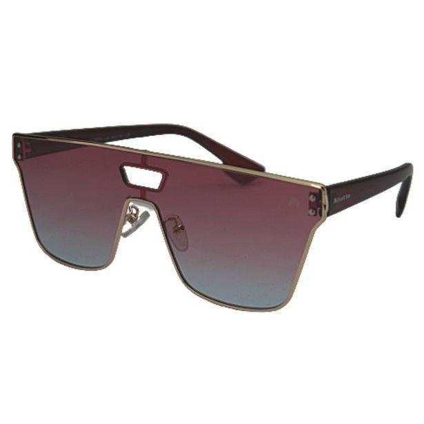 Oferta de OUTLET - Óculos de Sol Khatto Square Pretty - Azul e Rosa por R$59,99