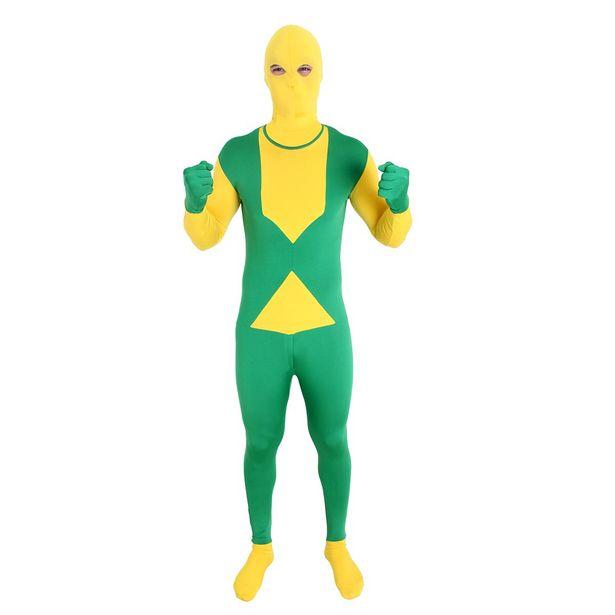 Oferta de Fantasia Morphsuits Brasil Adulto por R$79,99