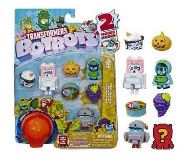Oferta de Transformers Figura Botbots Pack com 8 - Bunches e Trend Blend HASBRO por R$47